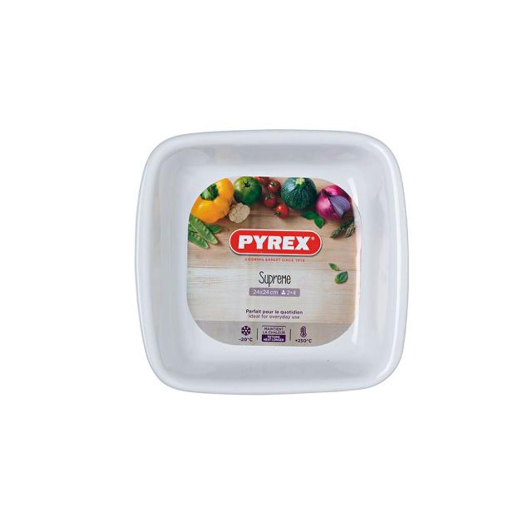 Կերամիկական տարա Pyrex 24 սմ